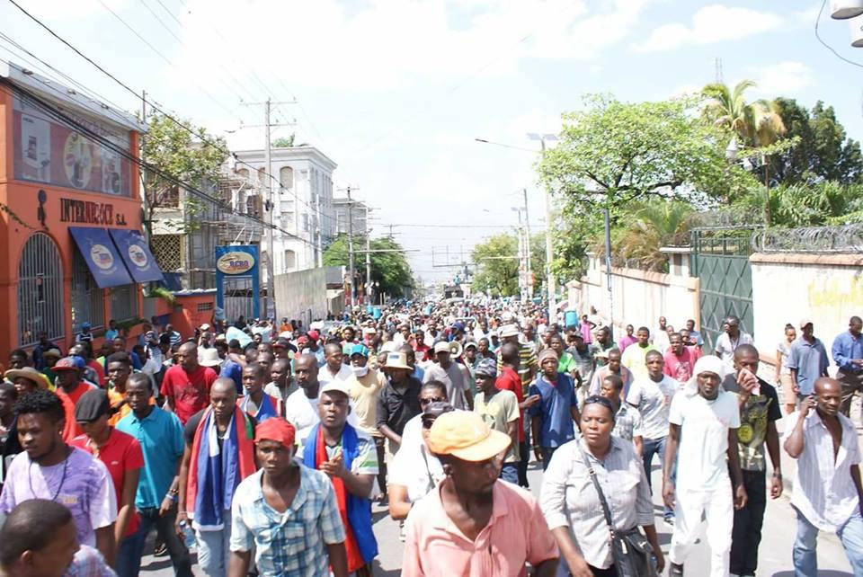 Port au prince nouvelle s rie de manifestations a partir de mercredi rezo n dw s - Manifestation a port au prince aujourd hui ...