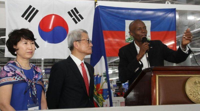 Inauguration du 2ème complexe scolaire de la compagnie S&H de Trou-du-Nord