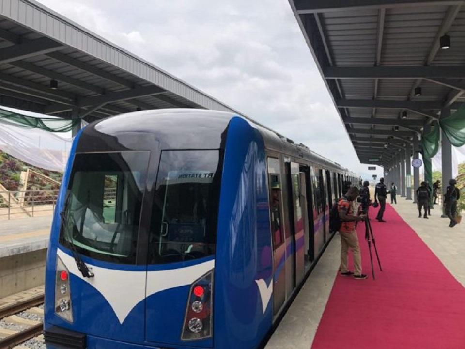 """Résultat de recherche d'images pour """"lagos, metro, Blue Line, 2018, 2019"""""""