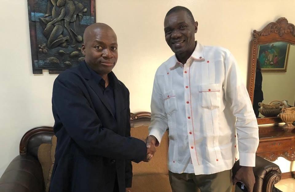 Francois Illas New Tradition: Le Père De Naomi Osaka Débarque En Haïti